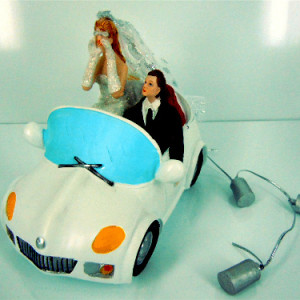 Just Married Car Topper