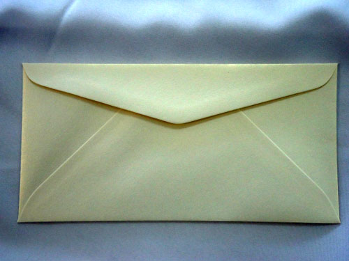 Cream Mist DL Envelope