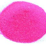 hot pink sand