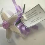 lilac almond flowers