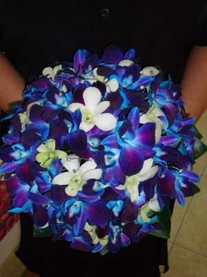 A beautiful bouquet of wedding flowers in Brisbane