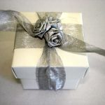 Gloss White Cube Box