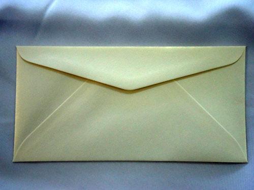 Cream Mist DL Envelope