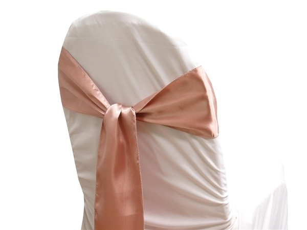 Dusty Pink Satin Sash One Stop Wedding Shop