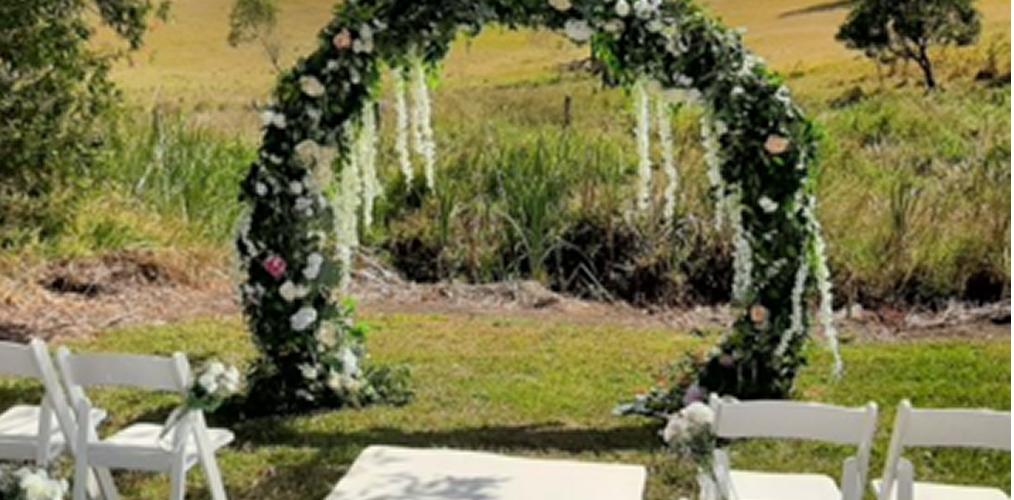 Wedding Ceremony Styling North Brisbane
